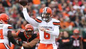 NFL: NOV 25 Browns at Bengals
