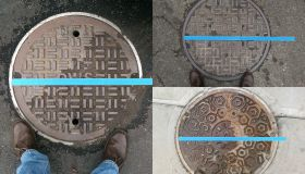 Artist Puts Miniature Houses On Top Of Steaming Manhole Covers