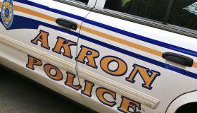 Akron Police vehicle