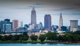 Cleveland Skyline from West