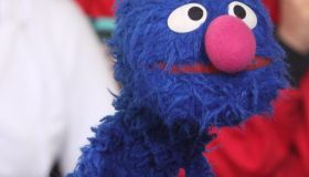 Rob Marciano is joined by Sesame Street characters Good Morning America