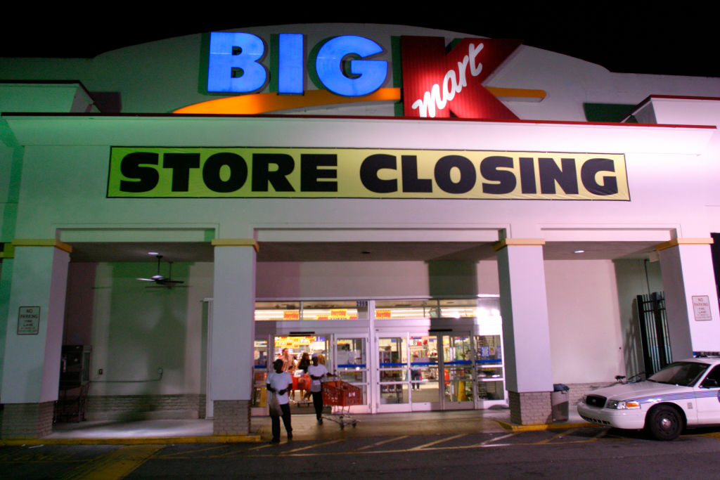 Big K, Kmart store closing.