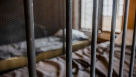 Glimpse at the interior of an old jail.