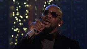 R. Kelly during an appearance on NBC's 'The Tonight Show Starring Jimmy Fallon.'