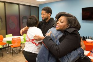 M.A.C. Cosmetics Viva Glam Launch With Spokespeople Taraji P. Henson & Jussie Smollett In Chicago