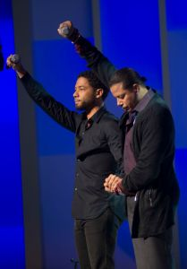 Terrence Howard And Jussie Smollett