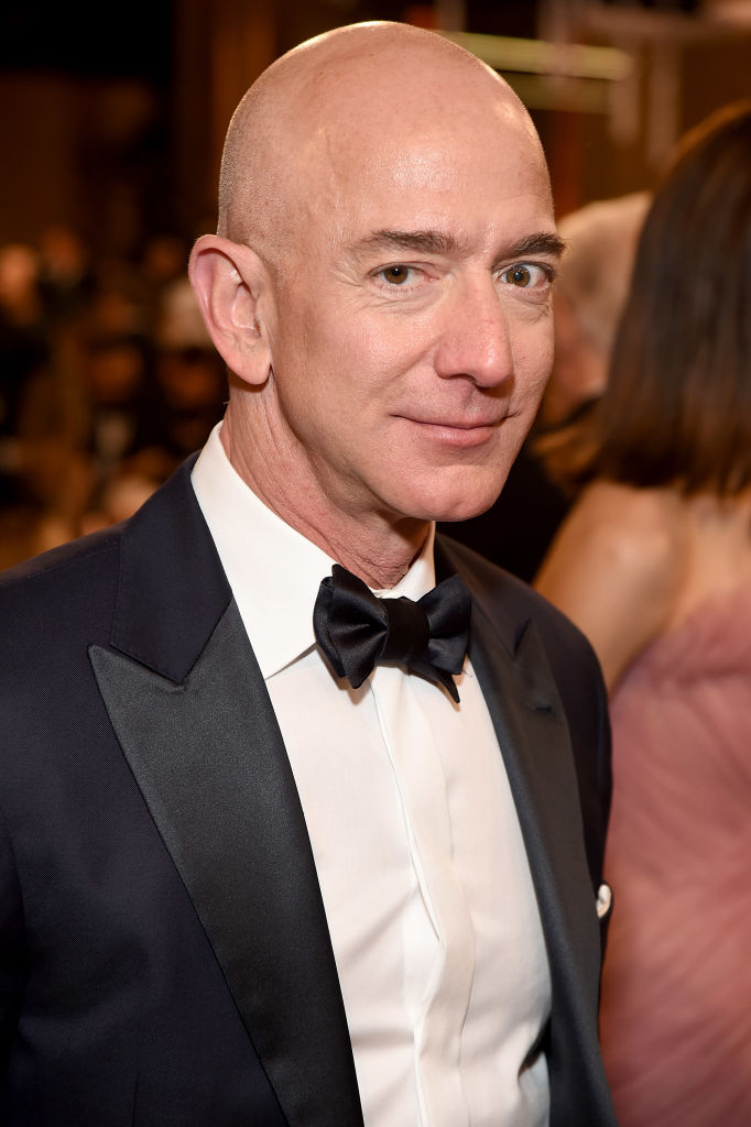 Jeff Bezos accuses National Enquirer owner of blackmail