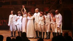 final perf of Lin-Manuel Miranda in Hamilton curtain call
