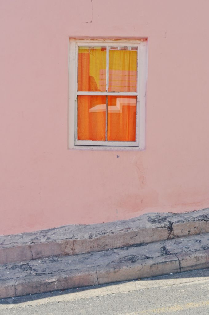 Window On Pink Wall