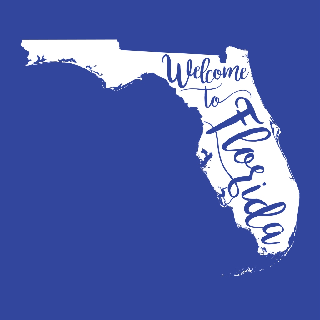 Welcome to Florida EPS10 Vector Map