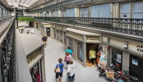 America's Oldest Shopping Mall is Transformed into Stylish Apartments: