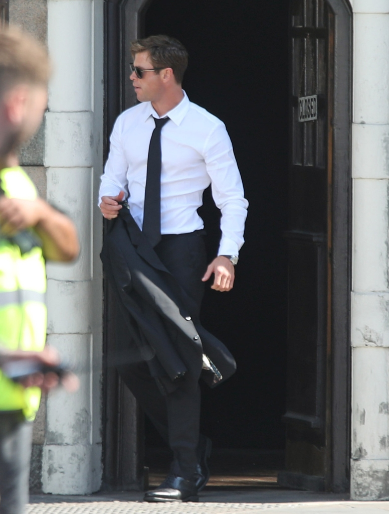 Men In Black filming in London