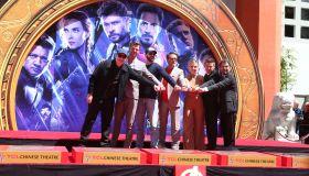 Marvel Studios' 'Avengers: Endgame' Cast Handprint Ceremony