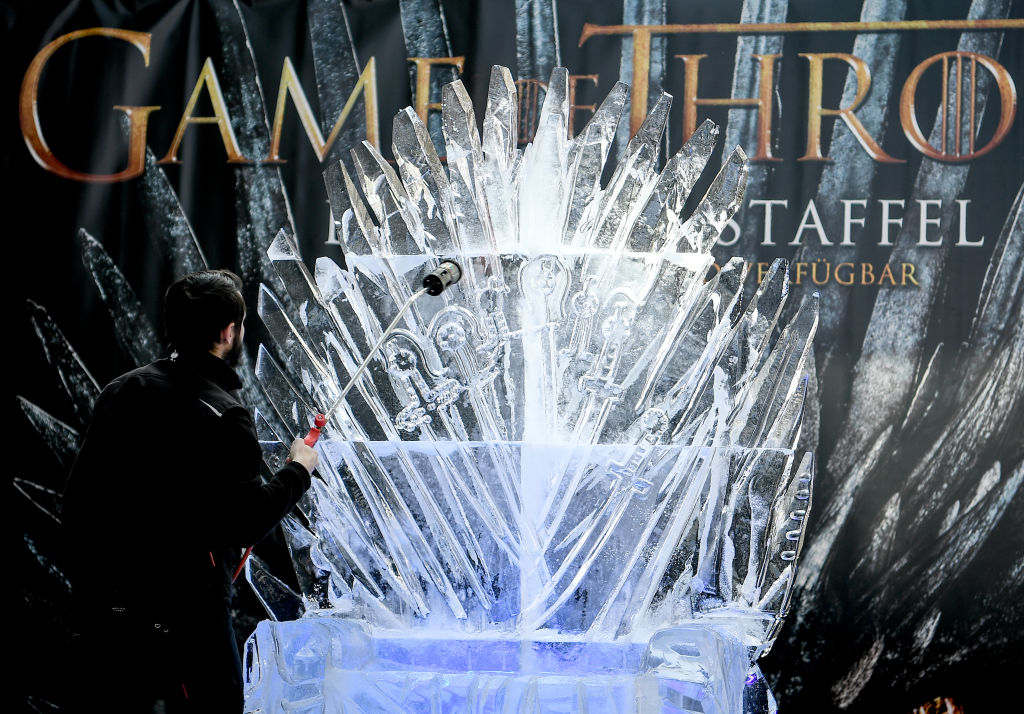 Throne of ice