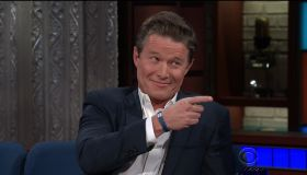 Billy Bush during an appearance on CBS' 'The Late Show with Stephen Colbert.'