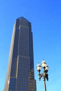 Landmark Skyscraper Key Bank Office Tower, Cleveland, Ohio, USA