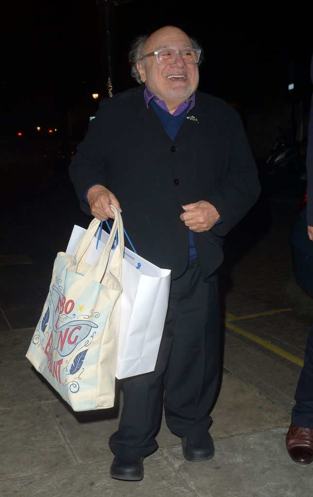 Danny DeVito out and about in London