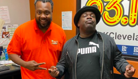 Sam Sylk and Comedian Rodney Perry