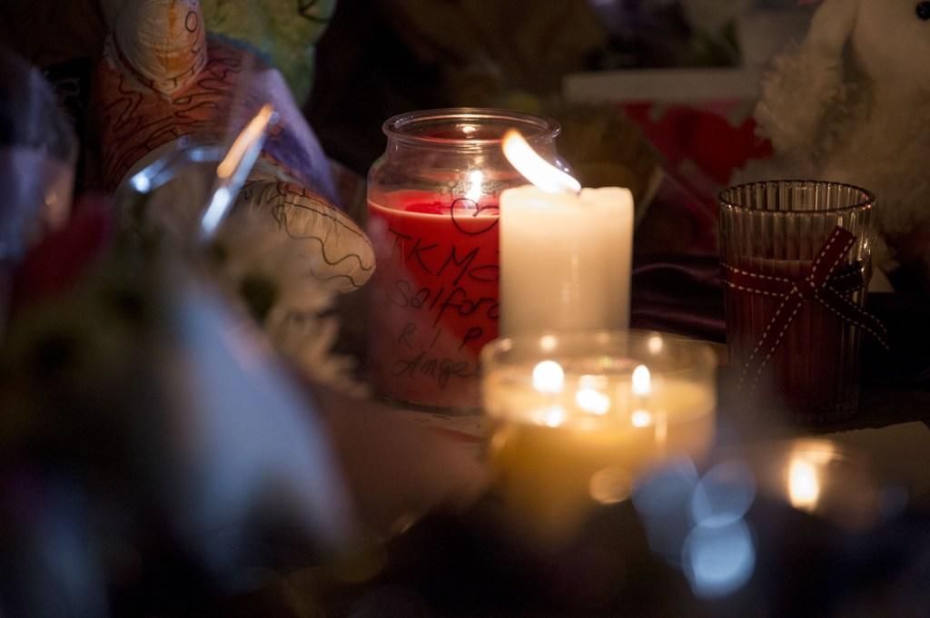 Manchester Terror Attack St.Anne's Square Vigil