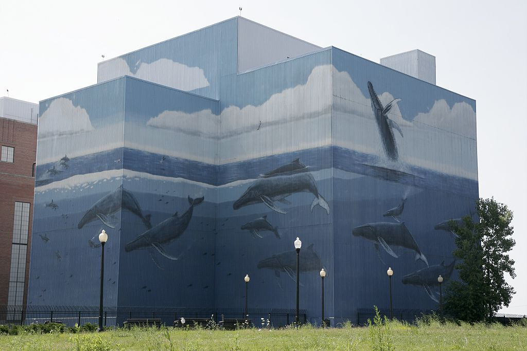 Public Power Generating Station, Whale Mural