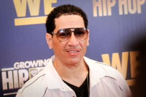 Kid Capri attends the Growing Up Hip Hop, New York and...
