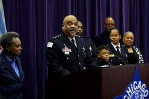 Chicago Police Superintendent Eddie Johnson Announces His Retirement