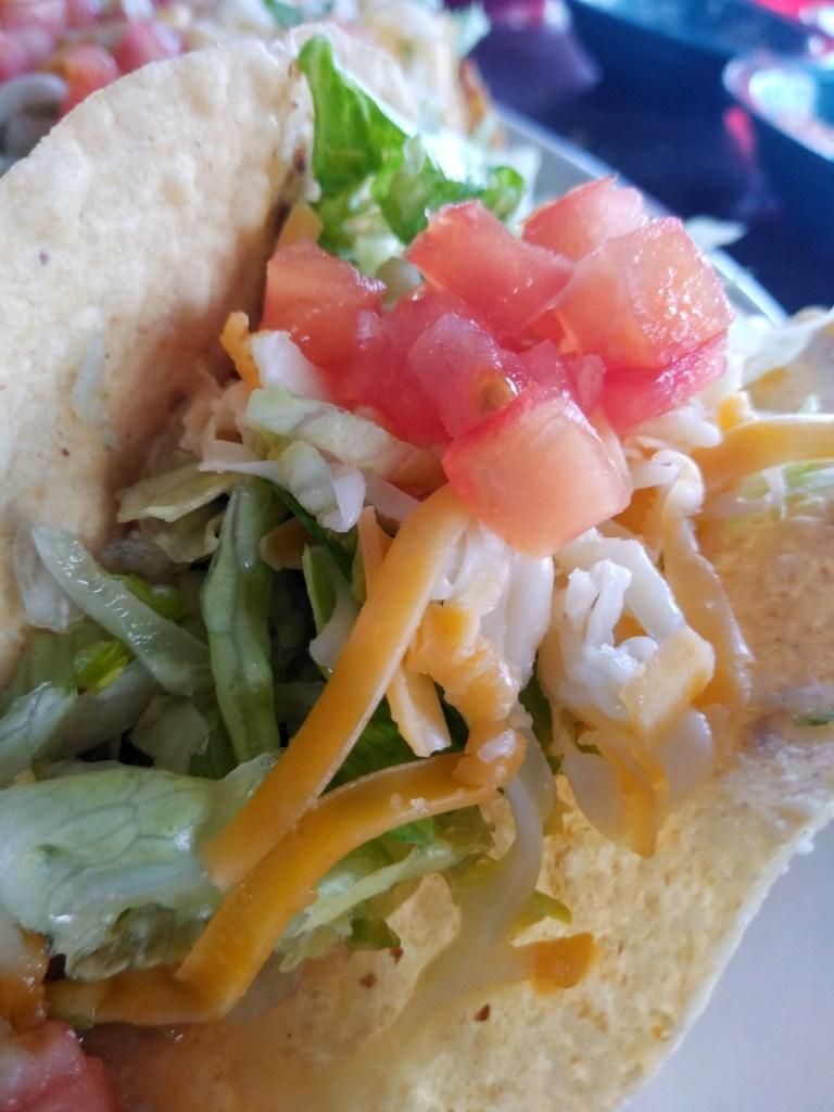 Taco close-up