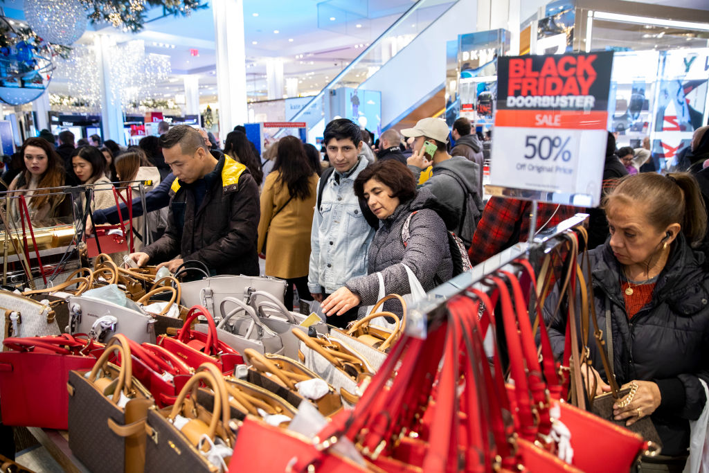 U.S.-NEW YORK-BLACK FRIDAY