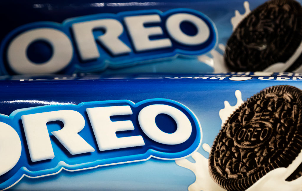 Oreo Cookies on a store shelf...