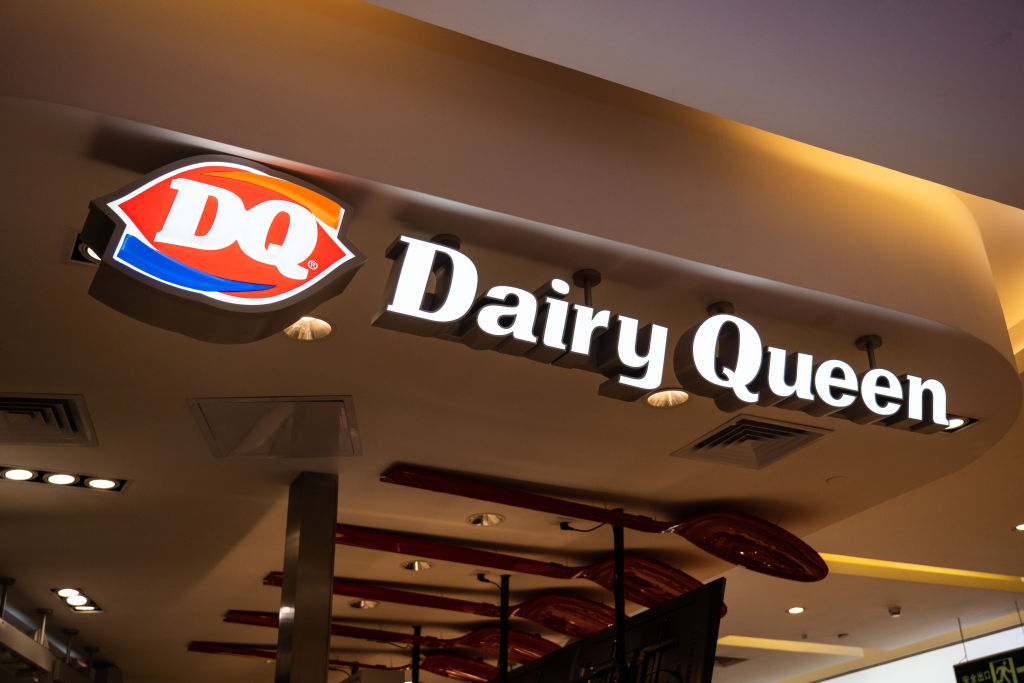 American chain of ice cream and fast-food restaurants, Dairy...