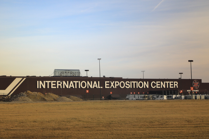The International Exposition Center, (I-X Center)