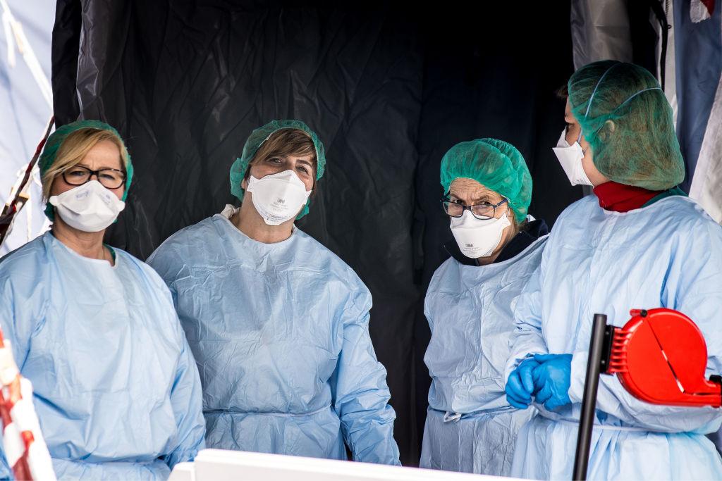 Coronavirus Emergency In Padova