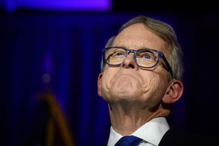Ohio GOP Gubernatorial Candidate Mike DeWine Attends Election Night In Columbus
