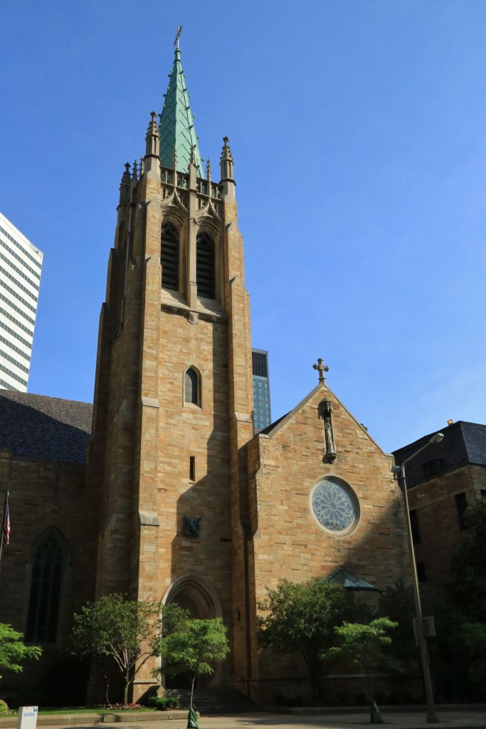 Cathedral church and aministrative Offices for the Cleveland Catholic Diocese