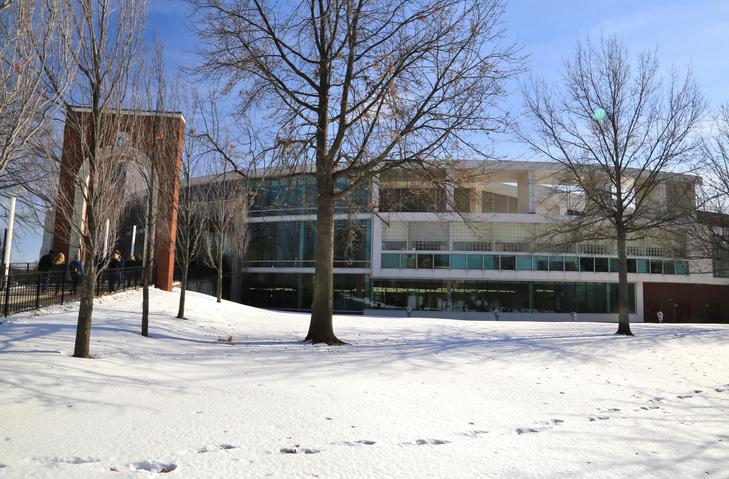 University of Akron College Campus, Akron, Ohio, USA