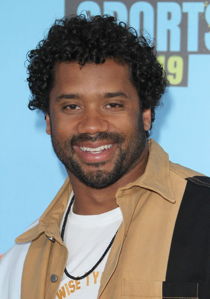 Russell Wilson attends The Kids Choice Sport 2019 in Los Angeles