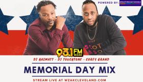 WZAK Memorial Day Mix