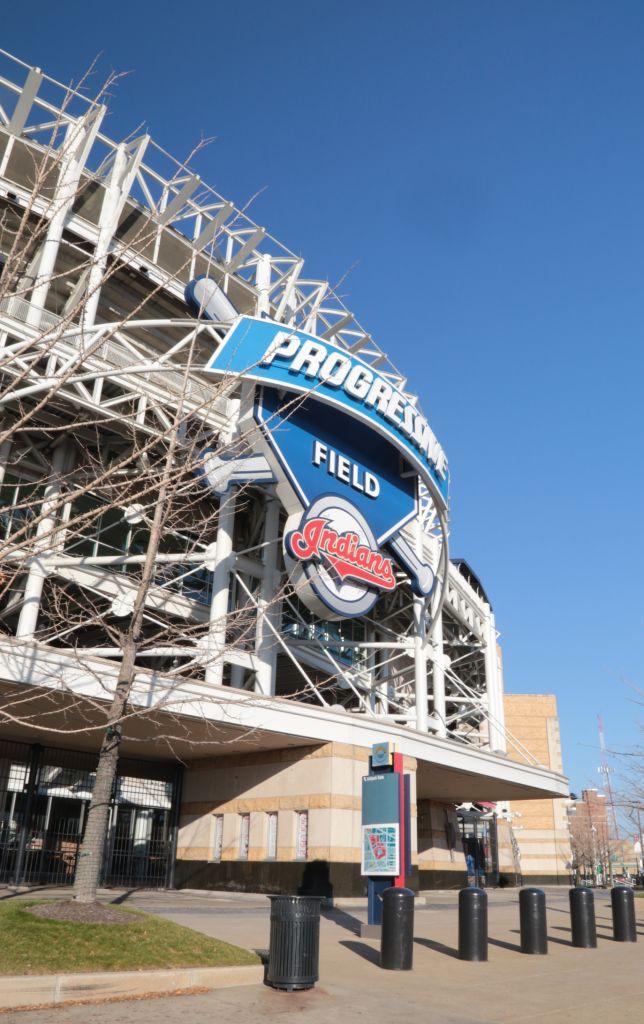 Progressive Field Baseball Stadium