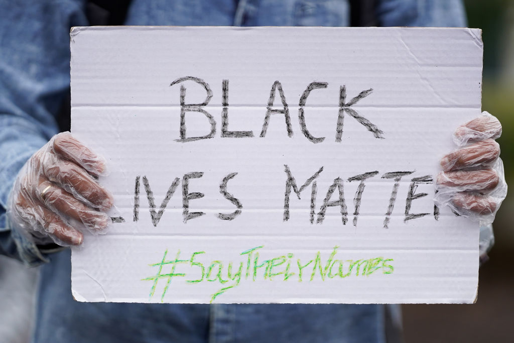 Black Lives Matter Demonstrations In UK Continue Into The Weekend