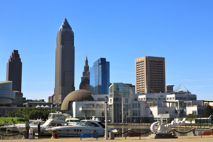 Cleveland City on the Lake Shore