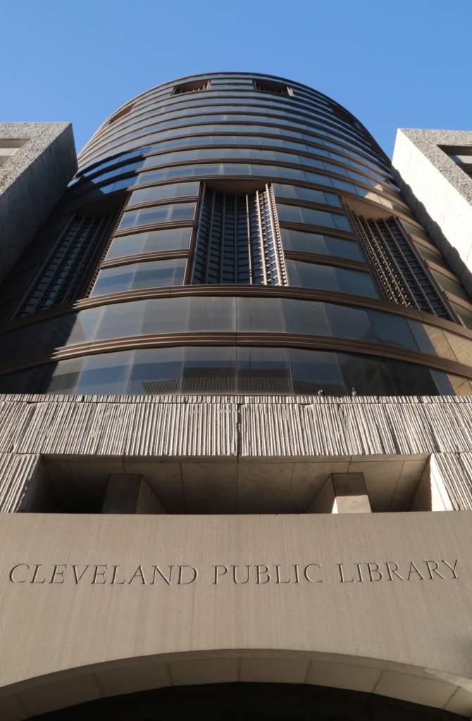 Louis Stokes Wing of the Cleveland Public Library, Cleveland, Ohio, USA