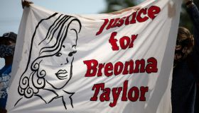 """""""STAND 4 Breonna Taylor"""" March Held In Austin, Texas"""