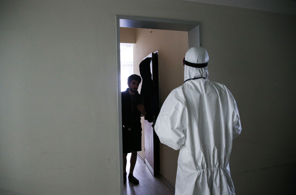 A quarantine day in KYK dormitory under Covid-19 measures in Turkey