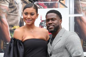 Kevin Hart Hand And Footprint Ceremony At the TCL Chinese Theatre IMAX