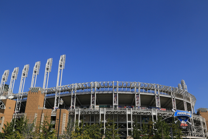 Progressive Field Baseball Stadium, Cleveland, Ohio, USA