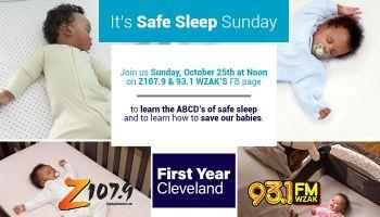 Safe Sleep Sunday