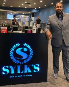 Sam Sylk at Sylk's Restaurant
