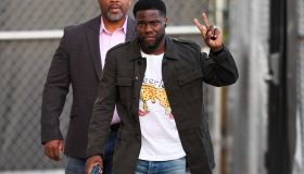 Kevin Hart Arrives to Jimmy Kimmel
