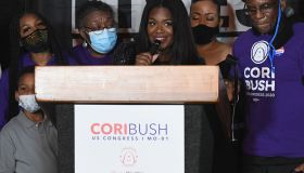 Candidate For Missouri's 1st District Cori Bush Holds Election Night Party