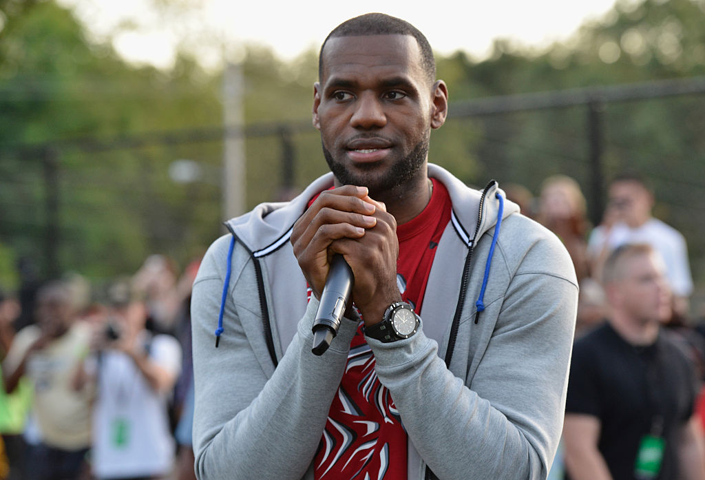 Sprite, LeBron James Unveil Refurbished Basketball Court In Akron